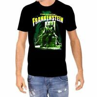 Frankenstein Boris Karloff Rock Rebel Horror Men's T-Shirt