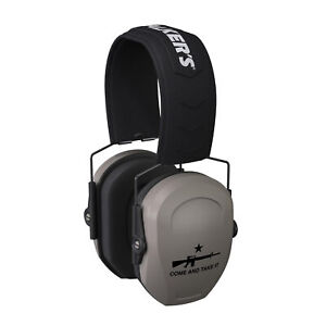 Walker's Razor Slim Passive Safety Ear Muffs (Come and Take It)