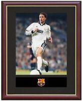 Fernando Redondo Real Madrid Mounted Framed & Glazed Memorabilia Gift Football