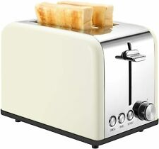 Keemo Toaster 2 Slice Stainless Steel Small Toaster with Bagel, Cancel, Defrost
