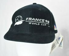NWT Vintage Deadstock France 1998 Official Adidas Hat World Cup Cap Hat Soccer