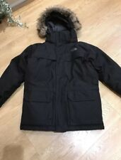 Boys North Face Black Down Coat Size M free next day delivery