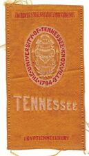 New listing 1910s S25 tobacco / cigarette / college silk University of Tennessee
