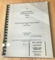 The John Schilling Token Collections Sales 1997 Nevada & New Mexico Trade Tokens