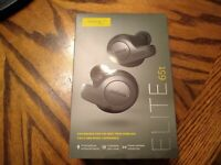 Jabra Elite 65t Alexa Enabled True Wireless Earbuds - Titanium Black - Brand New