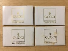 4 GUCCI Watch Timepieces Papers Paperworks Green Card Bezel Bangle etc models