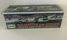 Hess Helicopter And Rescue Truck New In Box 2012 Lights and Sound