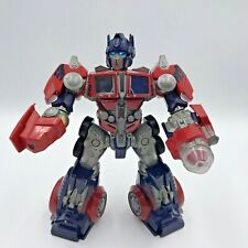 Hasbro 2006 Transformer Optimus Prime Robots 11 inches Talking And Light Up