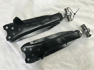 Datsun Stanza pair front lower control arm adjustable camber rally race