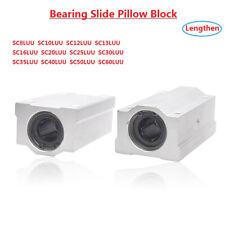 Lengthen Linear Motion Ball Bearing Slide Pillow Block 8101213162025 60mm