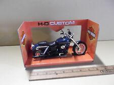 Harley Davidson 2004 DYNA Super Glide Sport Motorcycle Diecast 1:12 Maisto