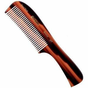 Kent 10T Large Wide Tooth Comb - Rake Comb Hair Detangler / Wide Tooth Comb for