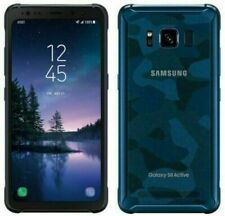 SAMSUNG GALAXY S8 ACTIVE G892A  CAMO BLUE 64GB AT&T + GSM UNLOCKED SHADDOWS