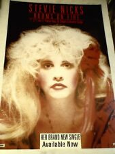STEVIE NICKS (Fleetwood Mac) Rooms on Fire  ORIGINAL Promotional POSTER