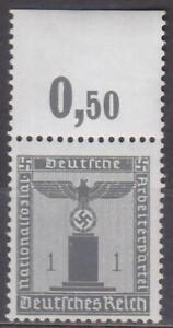 DEUTSCHES REICH - DIENSTMARKE 1942 Mi.: 155 PLATTENDRUCK P OR - **postfrisch**