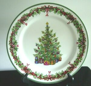 """CHRISTOPHER RADKO TRADITIONS HOLIDAY CELEBRATIONS DINNER PLATE 11"""""""