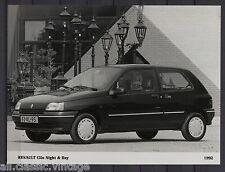 PRESS - FOTO/PHOTO/PICTURE - Renault Clio Night & Day 1992