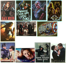 "Superhero Movie & TV Fridge Magnet Collection - 3.5""x2.5"" —> Choice of 30+"