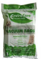 3 HEPA Bag Allergy C & Q Kenmore 50558 50557 Simplicity 8100 Riccar 2400 Vacuum