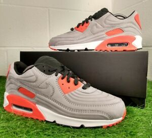 Nike Air Max 90 QS Night Silver Men's Sport Trainers Size UK 10 EU 45 CZ7656-001