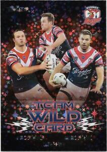 2021 Nrl Traders PRIORITY Team Wild Card Group (WCG14) ROOSTERS 42/45