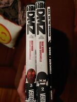 Dmz Deluxe Edition book two and three and vol 1 Lot of 3 graphic novels