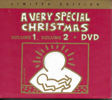 A Very Special Christmas Vol 1 & 2 Plus DVD - NEW Limited Edition 3 Disc Set