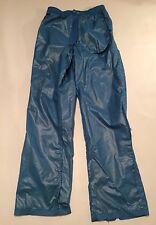 Adidas Vintage 80 s 90 s Shiny Wet Look soyeux nylon Vent Pant S nouveau