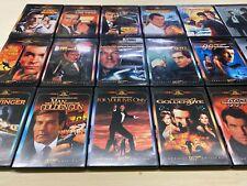 James Bond 007 DVD Lot of 17 Movies