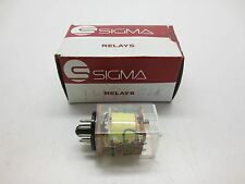 Sigma Instruments 41RO7-1000S-SIL 8-Pin Relay, NEW