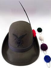 Cappello Alpino da Truppa Originale Completo di Fregio, Nappina e Penna
