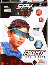 Spy Intelligence Agency Kids LED  Night Vision Goggles Torch Glasses Gadget Toy