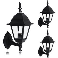 1/2/3/6x 4 Side LED Security Lantern Lamp Landscape Outdoor Wall Light Garden