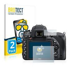 2x Nikon D750 Display Schutz Folie Matt Entspiegelt