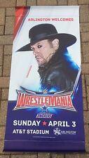 The Undertaker Street Banner of WWE Wrestlemania 32 Arlington Texas AT&T Stadium
