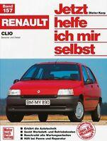 Renault Clio Reparaturbuch Reparaturanleitung Jetzt helfe ich mir selbst Wartung