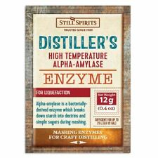 Still Spirits Distillers Alpha Amylase Enzyme 12g High Temperature for 25L