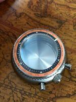 Chronograph Taucher 500M Uhrengehäuse ETA Valjoux 7750 Sapphirglas ALL S. STEEL