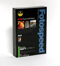 Fotospeed Matt Ultra Inkjet Paper, 240gsm, 4x6, 100 Sheets
