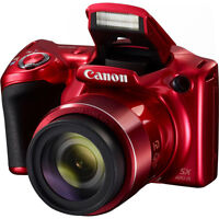 Canon PowerShot SX420 IS 20MP Digital Camera w/ 42x Optical Zoom + Wi-Fi - Red