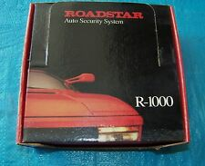 New Roadstar 1000 Vehicle Security System, Original Package.