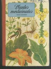 Plantes medicinales.Eugene FISCHER.Petit Atlas Payot z019