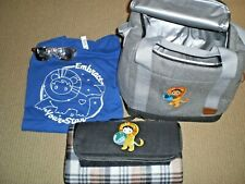 New Salesforce Astro SWAG picnic bag lunch pail, blanket, shirt, sunglasses RARE
