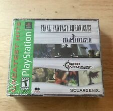 Final Fantasy Chronicles IV & Chrono Trigger Gh sony PLAYSTATION 1 PS1 Nuevo!!!