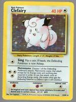 Clefairy - 5/102 - Base Set - Holo-Foil - Rare - Pokemon Card - NM Near Mint
