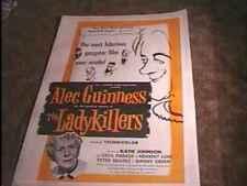 LADYKILLERS MOVIE POSTER '55 PETER SELLERS LINEN NICE