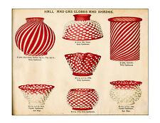 US Glass lighting/chandelier catalog 1893-rare EAPG