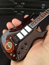 Grateful Dead Jerry Garcia Signature Lightning Bolt Miniature Guitar  Model