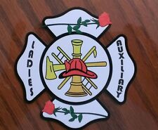 """Ladies Auxiliary Decal Contour Cut 4"""""""
