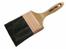 """Quality 4"""" wall plastering brush water brush 100mm Wooden Handle DIY Home Paint"""